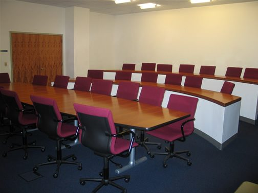 Conference Room 107 Seats 29, White Board, Smart Board, LCD Projector