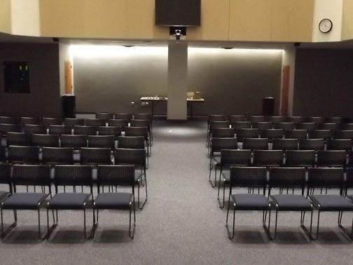 Gen Re Auditorium Room 109 (A-1) (front view)