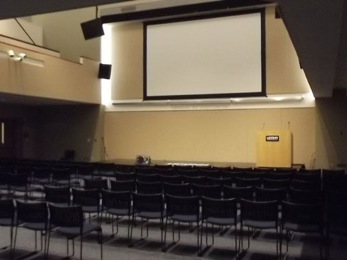 Gen Re Auditorium Room 109 (A-1) (side view)
